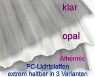Lichtplatten Polycarbonat