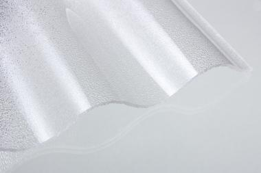 Acryl-Lichtplatte 3mm Sinus-C-Struktur gekr.
