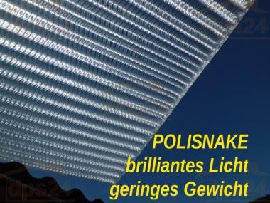 Stegplatte POLISNAKE SoPo extra stark + optisch brillant 16mm