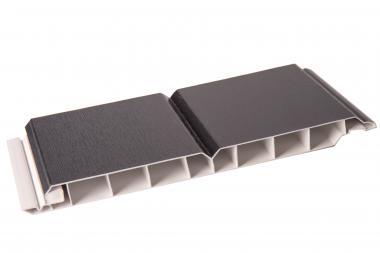 Paneele Wand- und Decke 17/200mm anthrazitgrau