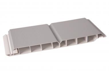Paneele Wand- und Decke 17/200mm silbergrau