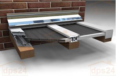 Aluminium-Verlegeprofil DUO