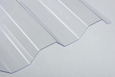 PC-Lichtplatte Trapezprofil klar-die WERTIGE