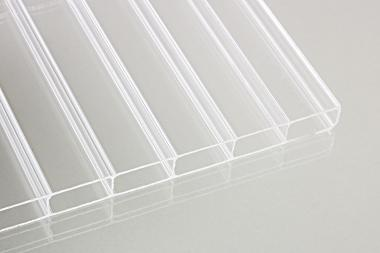 Stegdoppelplatte - Acrylglas klar 32er Steg 16mm