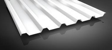 Trapezblech Stahlblech HOHES Profil 0.4/0.45mm SoPo VLIES  5 Farben
