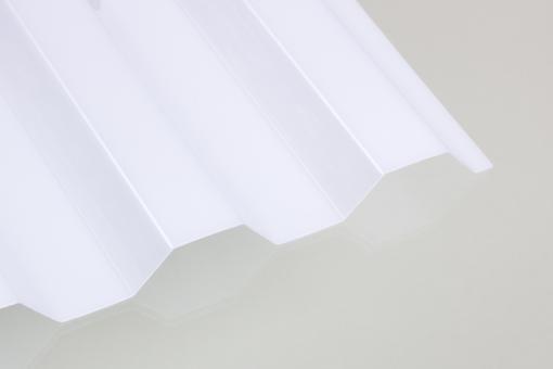 PC-Lichtplatte Trapez OPAL-Sonnenschutz & viel Helligkeit