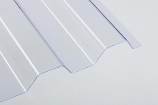 PVC-Lichtplatte 1.2mm Trapez-/Spundwandprofil