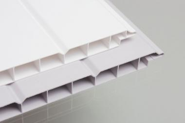 PVC Paneele Wand u. Decke 16/200mm weiß