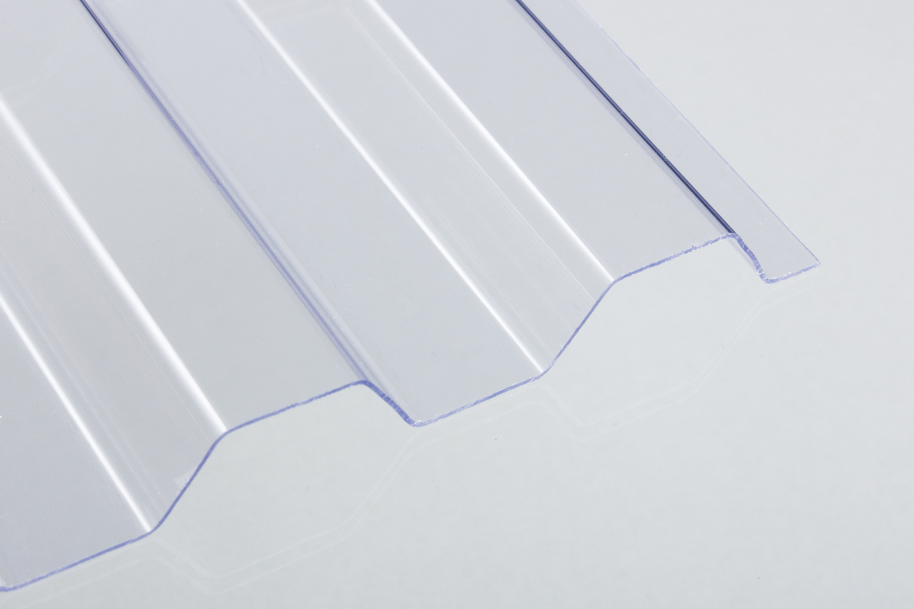 Berühmt PVC-Lichtplatte 1,4 mm Trapez-/Spundwandprofil EP46
