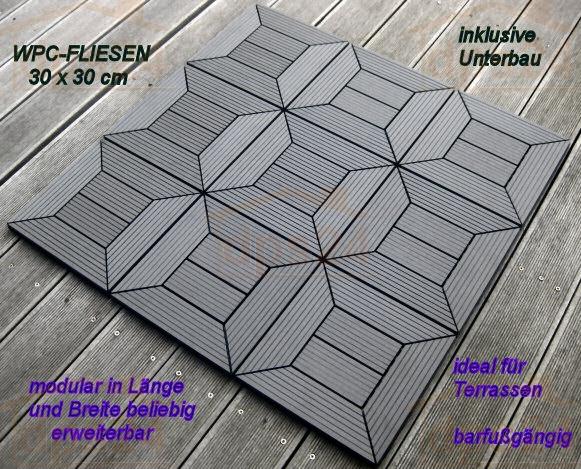 holzfliese wpc holz modulares klicksystem. Black Bedroom Furniture Sets. Home Design Ideas