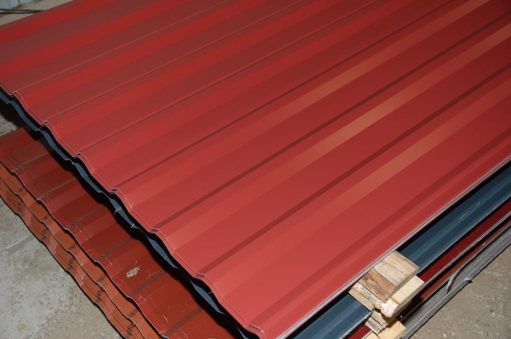 Trapezblech 20er profil sopo 2 wahl alle farben ca 2 50m for Wohnwand 2 50 m