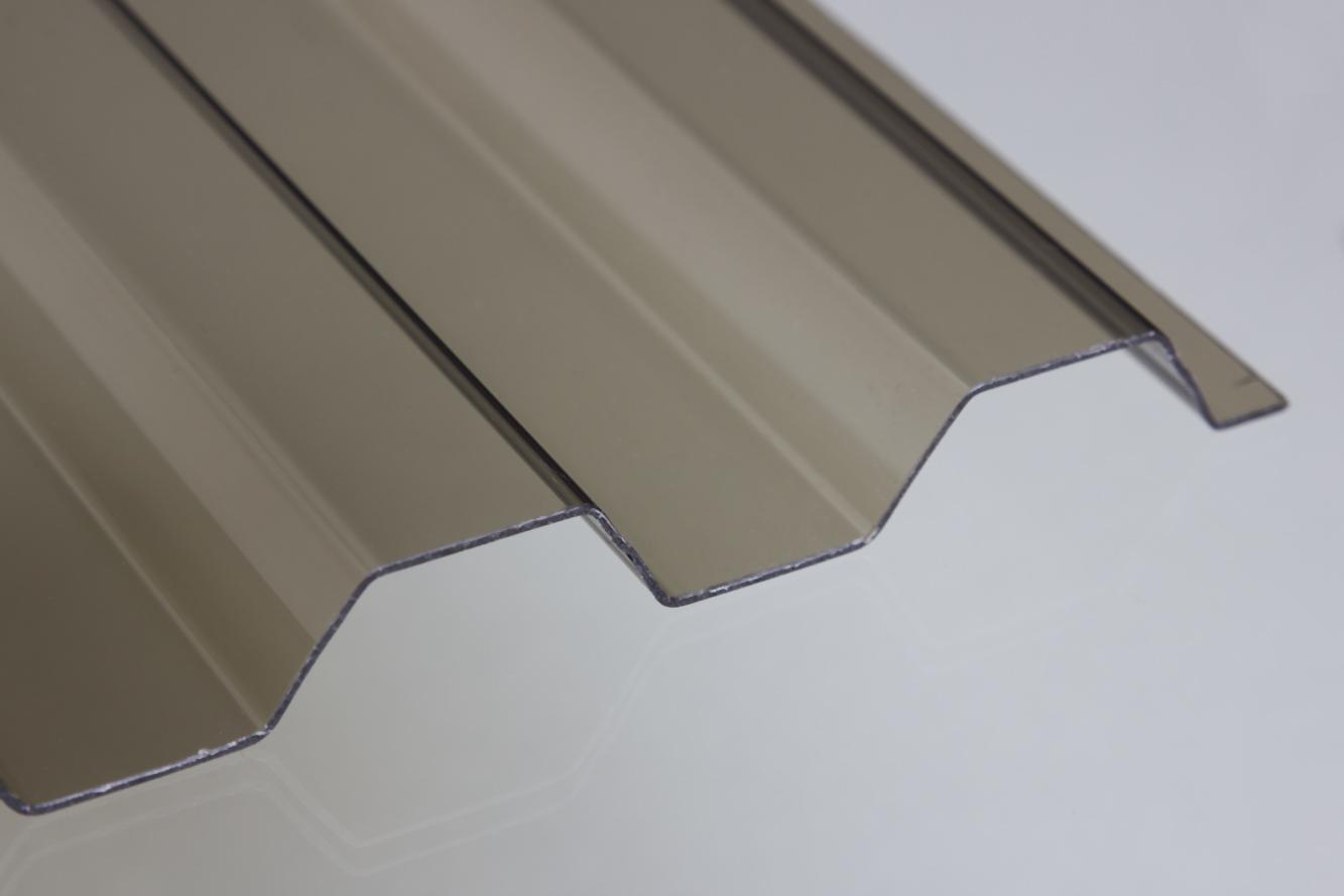 Extrem PVC-Lichtplatte 1,4 mm Trapez-/Spundwandprofil IM17