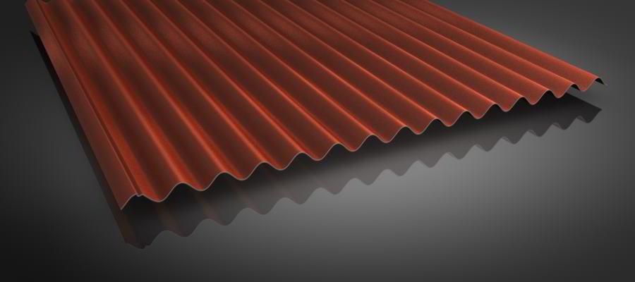 Wellblech dachplatten